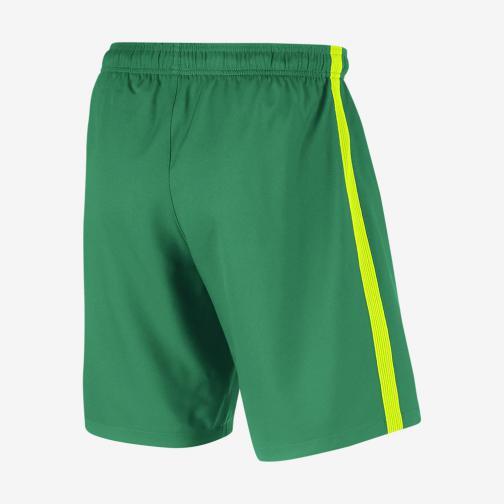 Nike Shorts De Course Home & Away Barcelona   16/17 LUCID GREEN/VOLT Tifoshop