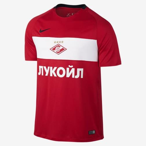 Nike Maillot De Match Home & Away Spartak Mosca   16/17 COMET RED/WHITE/BLACK/BLACK