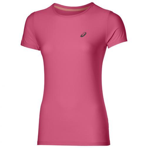 Asics T-shirt Ss Top  Donna Rosa