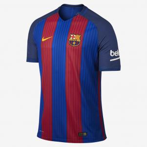 Nike Authentic Jersey Home Barcelona   16/17