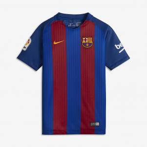 Nike Jersey Home Barcelona Junior  16/17