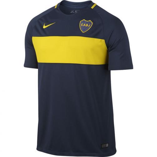 Nike Maillot De Match Home Boca Jr   16/17 MIDNIGHT NAVY/MIDNIGHT NAVY/OPTI YELLOW