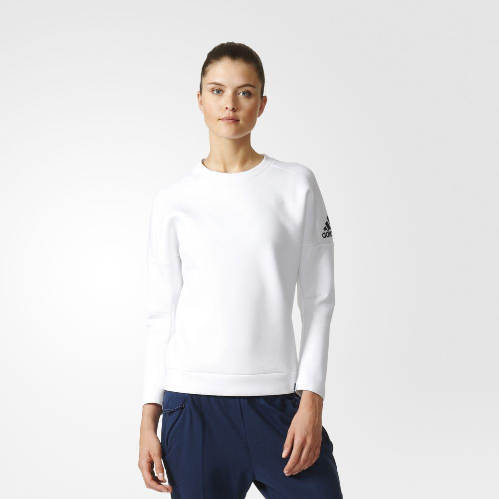 Adidas Felpa Z.n.e. Crewneck Sweatshirt  Donna