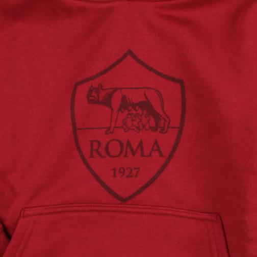Nike Felpa  Roma Junior Rosso Tifoshop