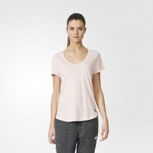 Adidas T-shirt LOGO V-NECK  Donna