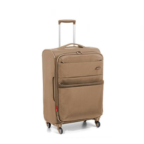 MEDIUM LUGGAGE  ECRU