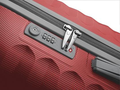 Trolley Grande Taille  GRAY/RED Roncato