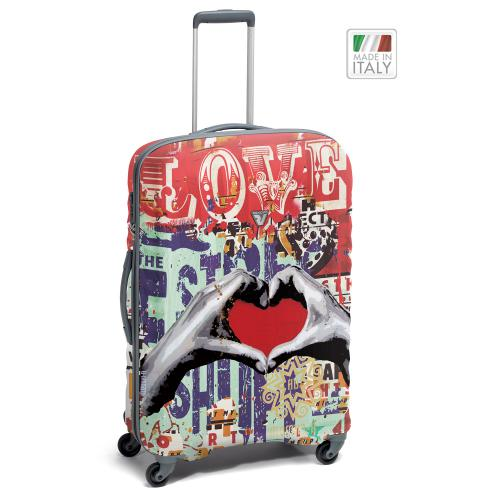 TROLLEY MEDIO  GRAY/LOVE ART