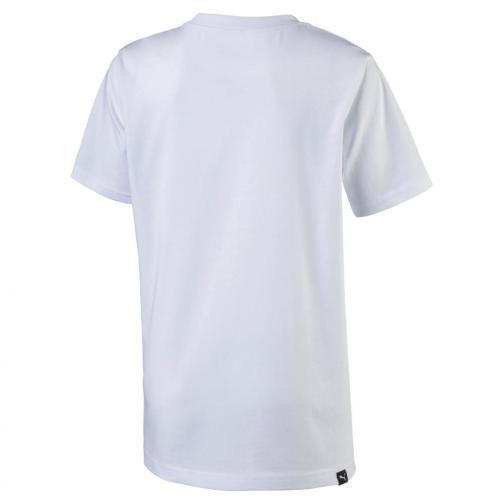 Puma T-shirt Legendary Tee Junior Usain Bolt Bianco UsainBolt
