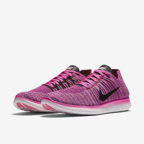 Nike Scarpe Free Rn Flyknit  Donna Rosa Tifoshop
