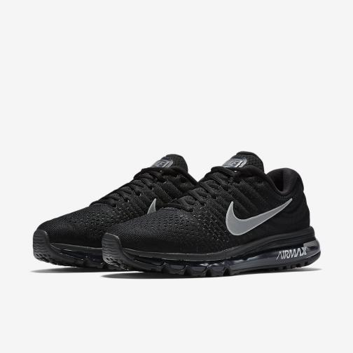 Nike Chaussures Air Max 2017 BLACK/WHITE-ANTHRACITE Tifoshop