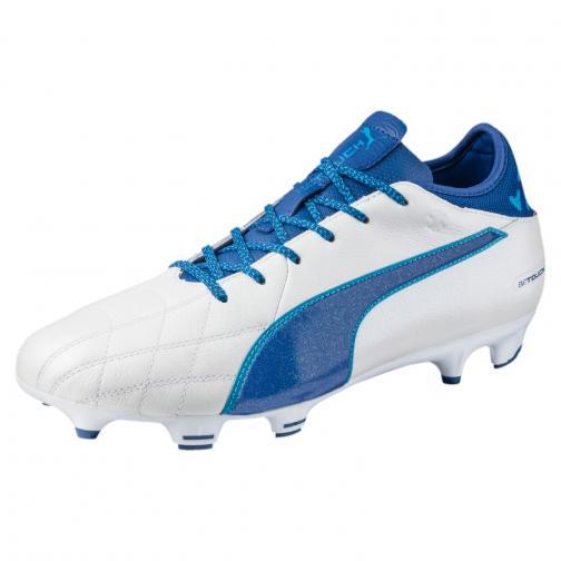 Puma Scarpe Calcio Evotouch 3 Lth Fg Bianco