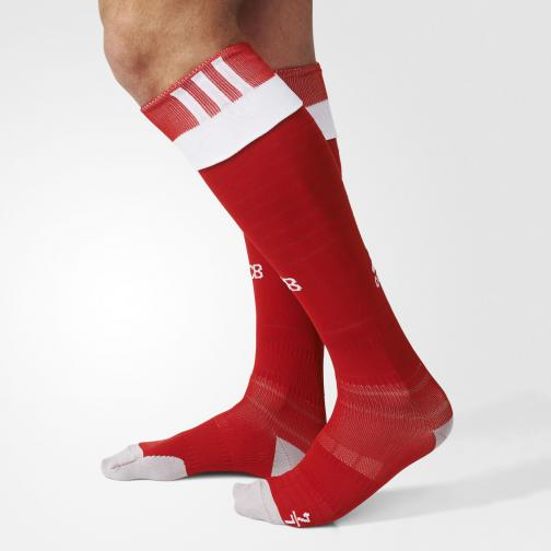 Adidas Chaussettes De Course Home Bayern Monaco   16/17 True Red/White/Power Red Tifoshop