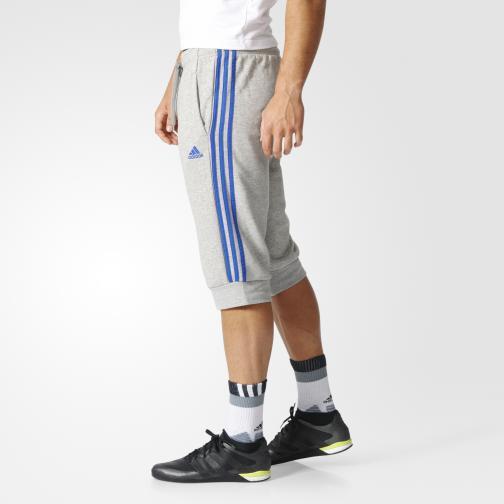 Adidas Shorts  Chelsea medium grey heather/chelsea blue Tifoshop