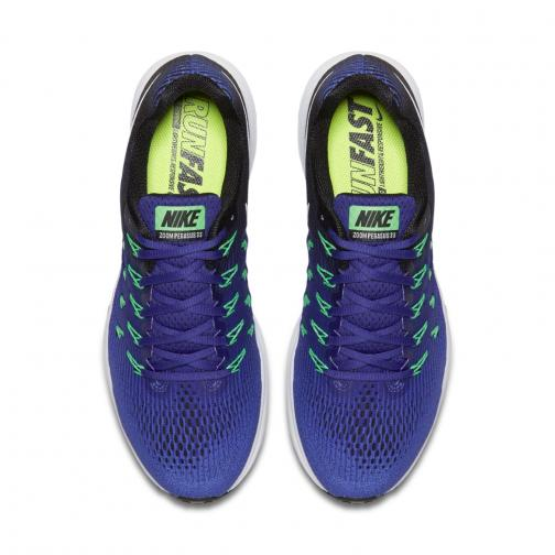 Nike Chaussures Air Zoom Pegasus 33 MEDIUM BLUE/WHITE-DEEP NIGHT-BLACK Tifoshop