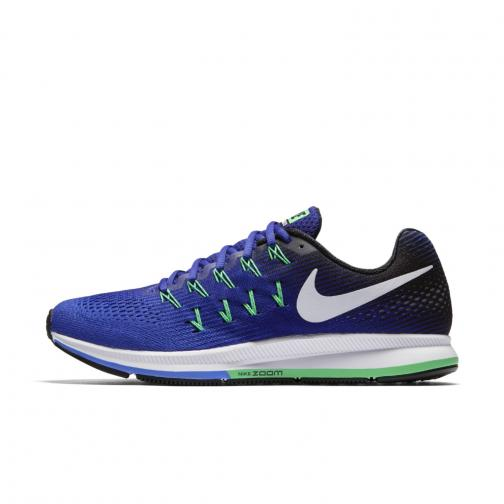 Nike Chaussures Air Zoom Pegasus 33 MEDIUM BLUE/WHITE-DEEP NIGHT-BLACK