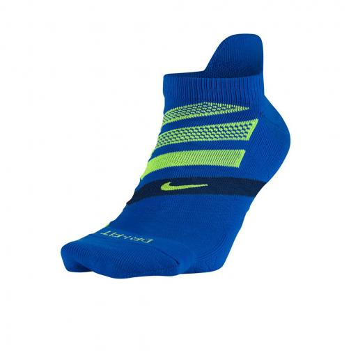 Nike Chaussettes Dry Cushion Dynamic Arch No-show  Unisex PARAMOUNT BLUE/BINARY BLUE/GHOST GREEN