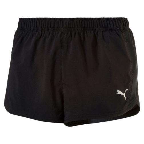 Puma Pantaloncino Core-run Split Nero