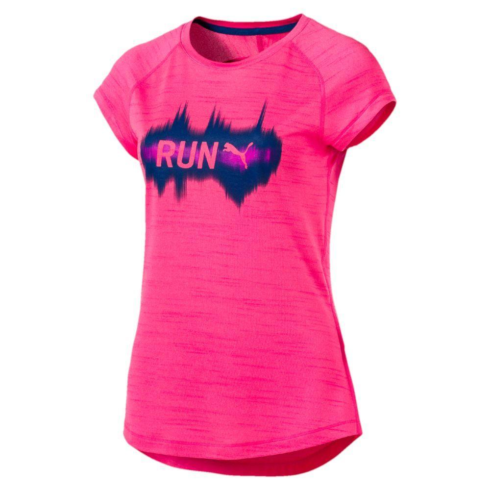 Puma T-shirt Run S/s Donna