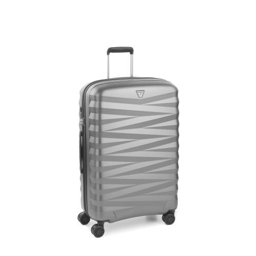 MEDIUM LUGGAGE  SILVER