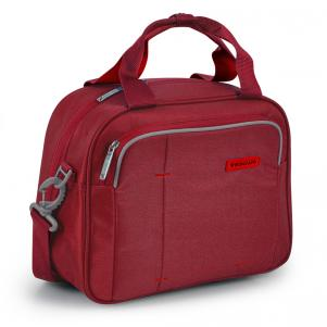 BEAUTY CASE  ROSSO SCURO