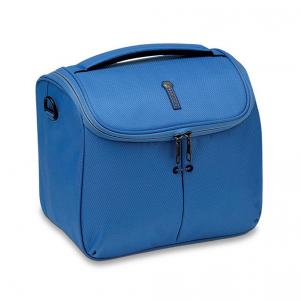VANITY-CASE  LIGHT BLUE
