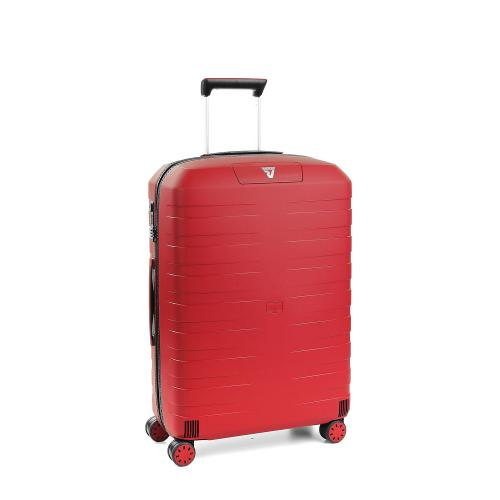 MEDIUM LUGGAGE  BLACK/RED