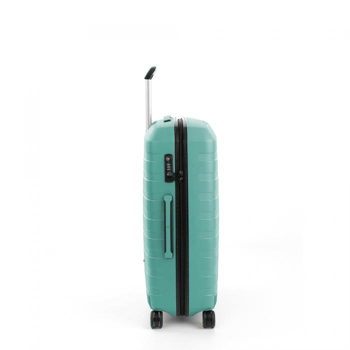 Medium Luggage  BLACK/EMERALD Roncato