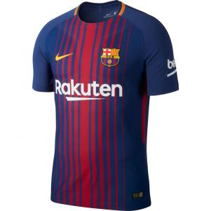 Nike Maglia Gara Authentic Home Barcellona   17/18