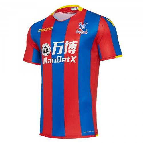 Macron Maillot de Match Home Crystal Palace FC   17/18