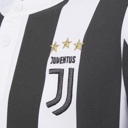 Adidas Maglia Gara Home Juventus Junior  17/18 Bianco/Nero Tifoshop