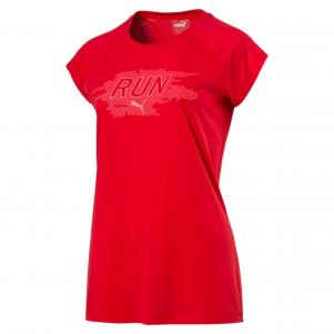 Puma T-shirt Run Short SleeveTee Women  Donna