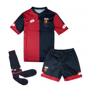 Lotto Kit Football Home Genoa Enfant  17/18