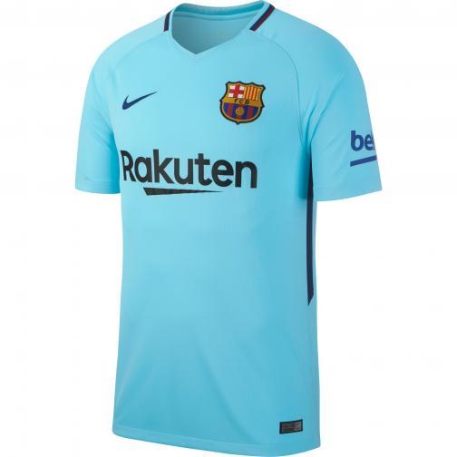 Nike Maglia Gara Away Barcellona   17/18 Azzurro