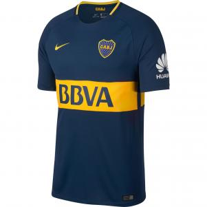 Men's Nike Breathe Boca Juniors Stadium Jersey