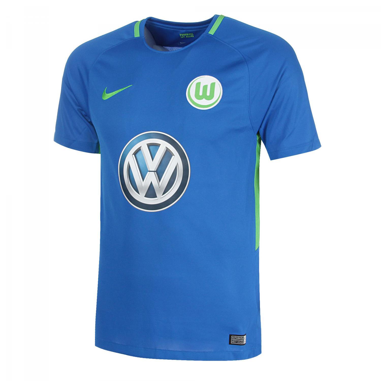 Nike Maglia Gara Away Wolfsburg   17/18