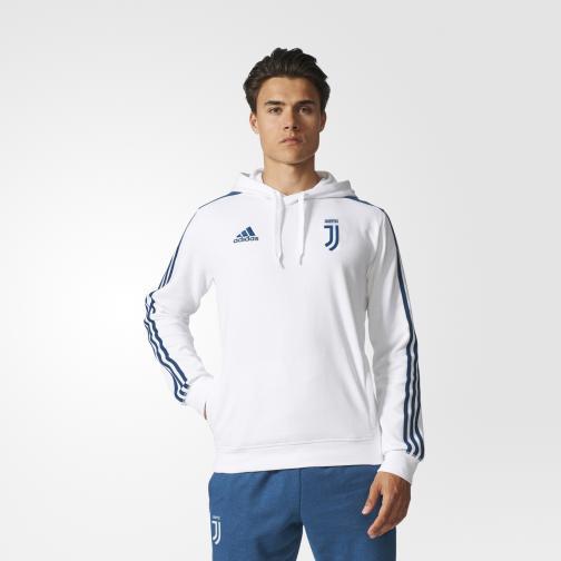 Adidas Felpa  Juventus Bianco/Blu Tifoshop