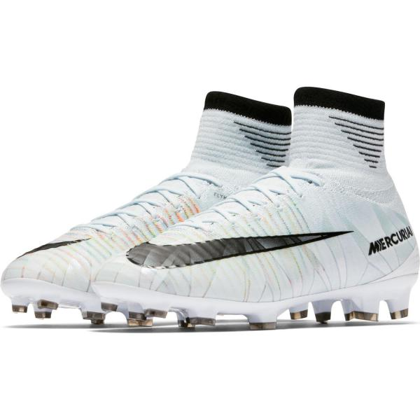 Nike Scarpe Calcio Mercurial Superfly V Cr7 Dynamic Fit Fg  Junior Cristiano Ronaldo Blu/nero/bianco Tifoshop
