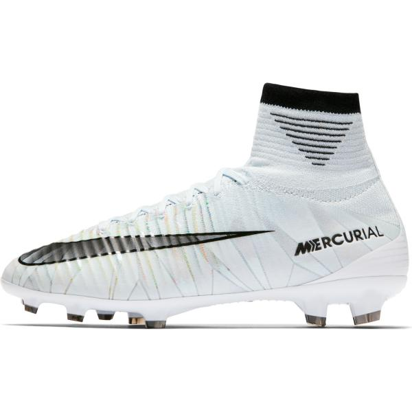 Nike Scarpe Calcio Mercurial Superfly V Cr7 Dynamic Fit Fg  Junior Cristiano Ronaldo Blu/nero/bianco