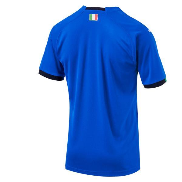 Puma Maglia Gara Home Italia   18/20 Azzurro Italia Tifoshop