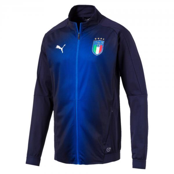 Puma Felpa Figc Stadium Jacket Italia Blu-azzurro